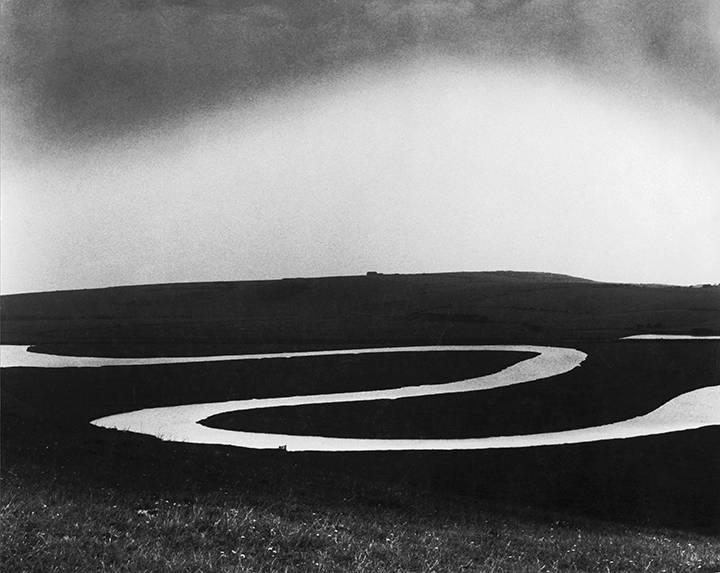 Bill Brandt Río Cuckmere, 1963
