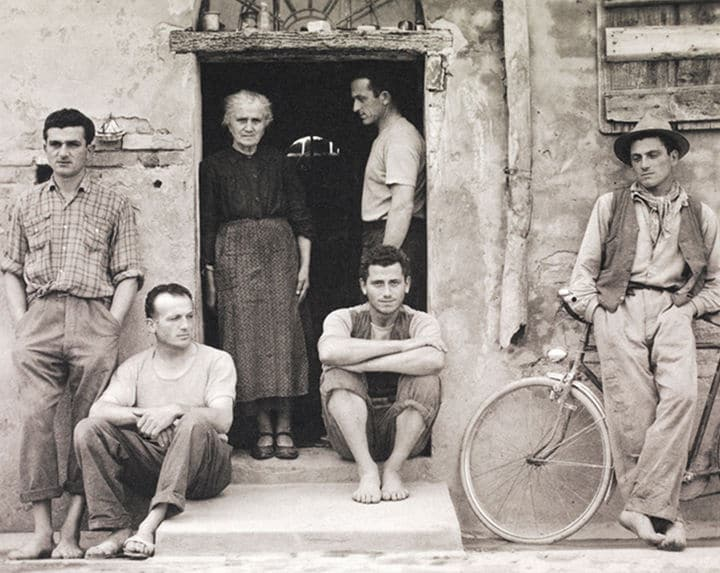 Paul Strand.The Family, Luzzara, Italy, 1953