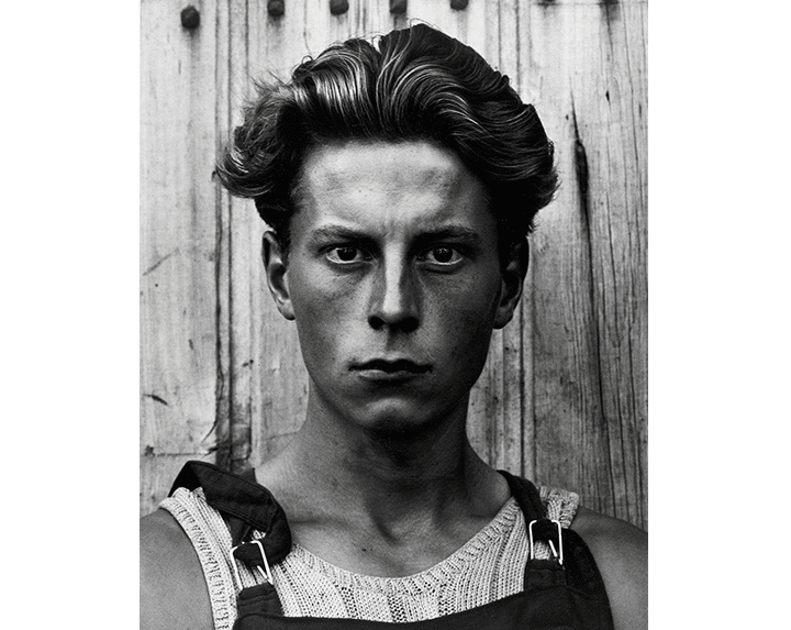 Paul Strand Young Boy, Gondeville, Charente, France