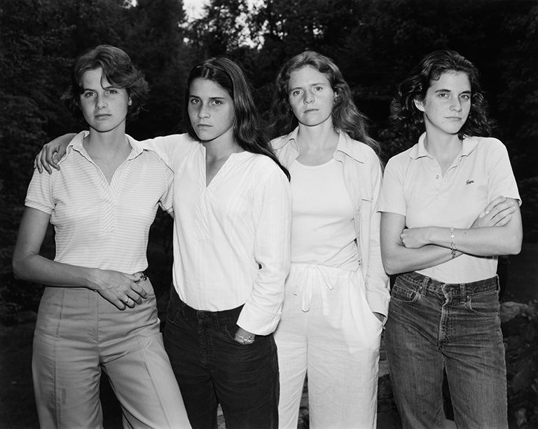 Nicholas Nixon The Brown Sisters, 1975