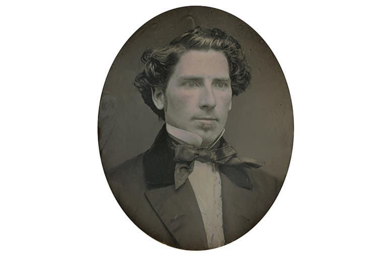 Autoría desconocida. Retrato de un hombre, ca. 1854-1856