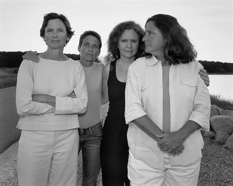 Nicholas Nixon The Brown Sisters, 2005. © Nicholas Nixon. Col. Fundación MAPFRE