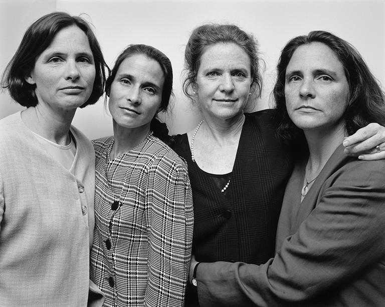 Nicholas Nixon The Brown Sisters, 1997. © Nicholas Nixon. Col. Fundación MAPFRE