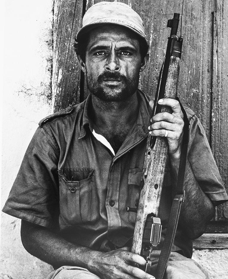 Paolo Gasparini Miliciano, Trinidad, Cuba, 1961